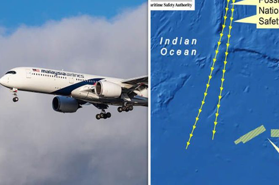 Malaysian Airlines flight MH370 was shot down by the US military