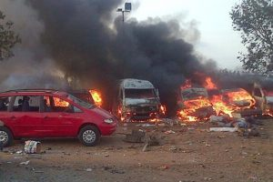 Bomb Blast On A Bus Station In Nigeria, 20 Killed And Several Injured.