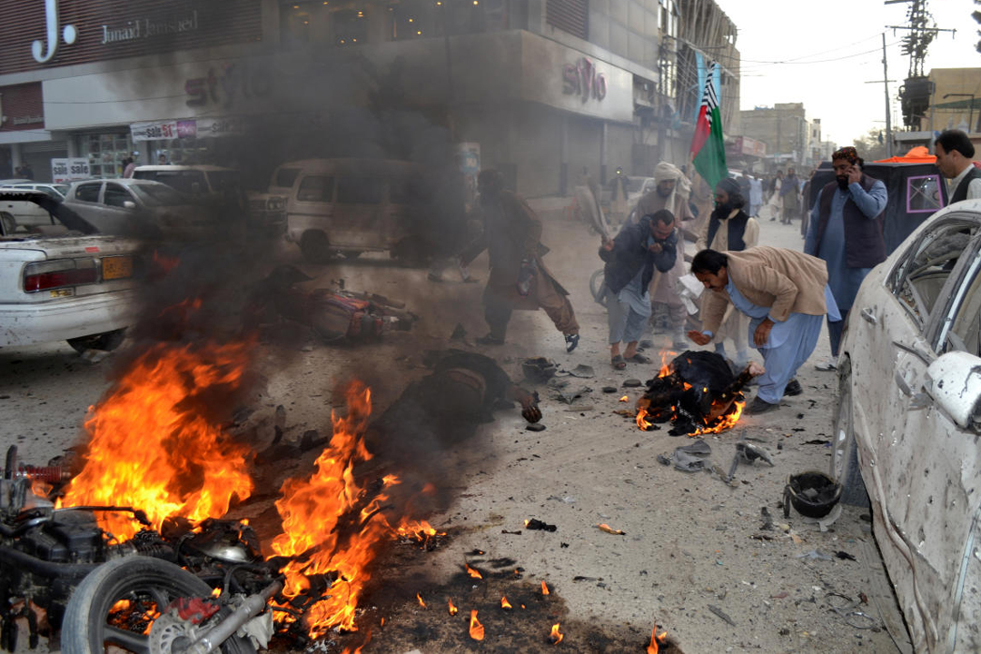 Another Bomb Blast In Pakistan