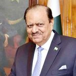 Pakistani President Mamnoon Hussain Signed The Constitutional Bill