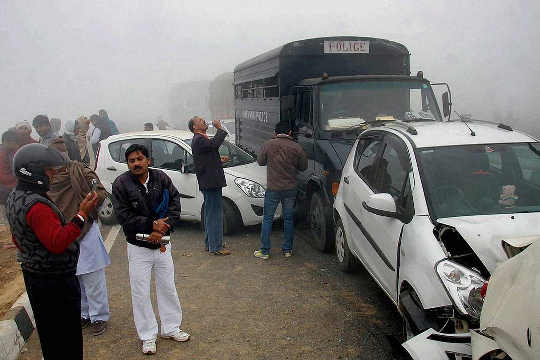 In Punjab 7 People Are Killed In Accidents Due To Fog