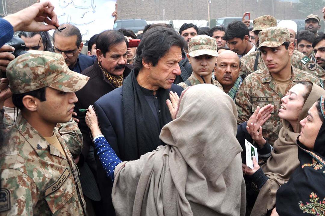 Imran Khan Visited Peshawar