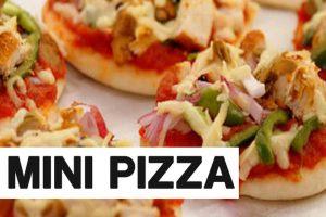 Recipe Of Easy Mini Pizza And Baked Khoya