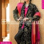 Gul Ahmed Embroidered Silk Velvet Coats - www.fashionhuntworld.blogspot.com - 011