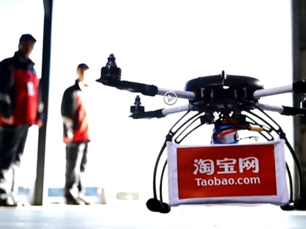 Drones Will Deliver Tea